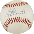 Autographs:Baseballs, Mike Schmidt Single Signed Baseball. ...
