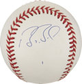 Autographs:Baseballs, Barry Bonds Single Signed Baseball. ...
