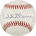 Autographs:Baseballs, Eddie Murray Single Signed Baseball....