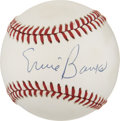 Autographs:Baseballs, Ernie Banks Single Signed Baseball. ...