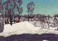 Fine Art - Painting, Russian:Contemporary (1950 to present), NIKOLAI EFIMOVICH TIMKOV (Russian, 1912-1993). Spring Thaw,1970. Oil on canvas. 27-1/4 x 34-1/4 inches (69.2 x 87.0 cm)...
