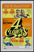 """Movie Posters:Comedy, 4 Clowns (20th Century Fox, 1970). One Sheet (27"""" X 41"""") and Pressbook (Multiple Pages). Comedy.... (Total: 2 Items)"""