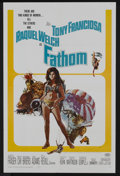 "Movie Posters:Adventure, Fathom (20th Century Fox, 1967). One Sheet (27"" X 41"") andPressbook (Multiple Pages). Adventure.... (Total: 2 Items)"