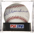 Autographs:Baseballs, Red Schoendienst Single Signed Baseball, PSA Mint 9....