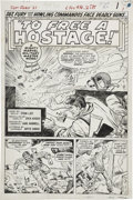 Original Comic Art:Splash Pages, Dick Ayers and Carl Hubbell Sgt. Fury #21, Splash page 1 Original Art (Marvel, 1965)....