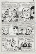 Original Comic Art:Panel Pages, Dick Ayers and John Tartaglione Sgt. Fury Special #2, page 4Original Art (Marvel, 1966)....