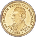 Commemorative Gold, 1904 G$1 Lewis and Clark MS64 PCGS....