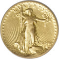 High Relief Double Eagles, 1907 $20 High Relief, Wire Rim--Removed From Jewelry--NCS. VFDetails....
