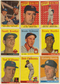 Baseball Cards:Lots, 1958 Topps Baseball Group Lot of 446. Large group of vintage Toppsbaseball from the 1958 series. Highlights include #1 Ted...