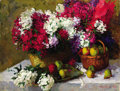 Fine Art - Painting, Russian:Contemporary (1950 to present), ANDREI MIROSHNICHENKO (Russian, 20th Century). Still Life,1954. Oil on canvas. 40 x 51 inches (101.6 x 129.5 cm). Signe...
