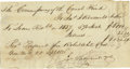 Autographs:Statesmen, James I. Roosevelt: Autograph Document Signed, Regarding the ErieCanal....