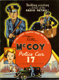 Platinum Age (1897-1937):Miscellaneous, Tim McCoy, Police Car 17 #674 (Whitman Publishing Co., 1934)Condition: FN/VF....