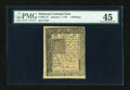 Colonial Notes:Delaware, Delaware January 1, 1776 1s PMG Choice Extremely Fine 45....