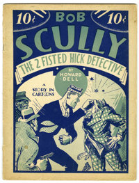 Bob Scully, The Two-Fisted Hick Detective #nn (Humor Publishing Corp., 1933) Condition: FN+