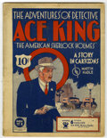 Platinum Age (1897-1937):Miscellaneous, Adventures of Detective Ace King Book 1 (Humor Publishing Corp.,1933) Condition: VG/FN....