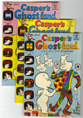 Bronze Age (1970-1979):Cartoon Character, Casper's Ghostland File Copy Group (Harvey, 1969-75) Condition:Average VF/NM.... (Total: 39 Comic Books)