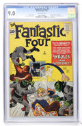 Silver Age (1956-1969):Superhero, Fantastic Four #2 (Marvel, 1962) CGC VF/NM 9.0 Off-white pages....