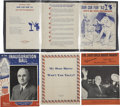 Political:Miscellaneous Political, Lot of Anti-Truman Campaign Sheet Music.... (Total: 4 Items)