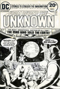 Original Comic Art:Covers, Nick Cardy From Beyond the Unknown #25 Cover OriginalArt (DC, 1973)....
