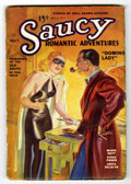 Pulps:Romance, Saucy Romantic Adventures May 1936 (#1) (Fiction Magazines, 1936) Condition: VG/FN....