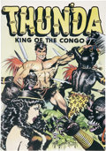 Memorabilia:Comic-Related, Frank Frazetta's Thun'da King of the Congo (Russ Cochran, 1973). ...