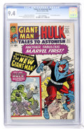 Silver Age (1956-1969):Superhero, Tales to Astonish #65 (Marvel, 1965) CGC NM 9.4 Off-white to white pages....