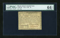Colonial Notes:Rhode Island, Rhode Island July 2, 1780 $2 PMG Choice Uncirculated 64 EPQ....