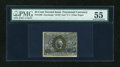 Fractional Currency:Second Issue, Fr. 1289 25c Second Issue PMG About Uncirculated 55....
