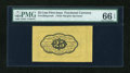 Fractional Currency:First Issue, Fr. 1282SP 25c First Issue Wide Margin Back PMG Gem Uncirculated 66 EPQ....