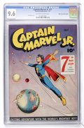 Golden Age (1938-1955):Superhero, Captain Marvel Jr. #31 Mile High pedigree (Fawcett, 1945) CGC NM+ 9.6 Off-white to white pages....