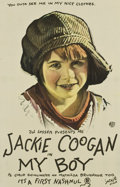 "Movie Posters:Comedy, My Boy (First National, 1921). One Sheet (27"" X 41.5"")...."