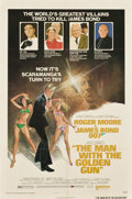 "Movie Posters:James Bond, The Man With the Golden Gun (United Artists, 1974). One Sheet (27""X 41"") Style B...."