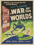 "Movie Posters:Science Fiction, The War of the Worlds (Paramount, 1953). Poster (30"" X 40"")...."