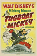 "Movie Posters:Animated, Tugboat Mickey (RKO, 1940). One Sheet (27"" X 41"")...."