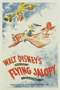 "Movie Posters:Animated, Flying Jalopy (RKO, 1943). One Sheet (27"" X 41"")...."