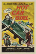 "Movie Posters:Cult Classic, Hot Car Girl (Allied Artists, 1958). One Sheet (27"" X 41"")...."