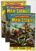 Golden Age (1938-1955):War, Star Spangled War Stories Group (DC, 1953-55).... (Total: 5 ComicBooks)