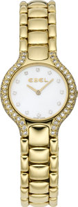 Timepieces:Wristwatch, Ebel Lady's Diamond & Gold Beluga Wristwatch, circa 2000. ...