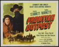 "Movie Posters:Western, Frontier Outpost (Columbia, 1949). Half Sheet (22"" X 28""). Western...."