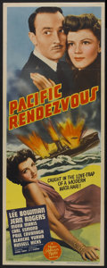 """Movie Posters:War, Pacific Rendezvous (MGM, 1942). Insert (14"""" X 36""""). War...."""