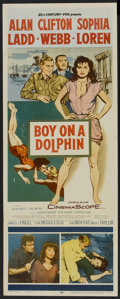 "Movie Posters:Adventure, Boy on a Dolphin (20th Century Fox, 1957). Insert (14"" X 36"").Adventure...."