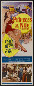 "Movie Posters:Adventure, Princess of the Nile (20th Century Fox, 1954). Insert (14"" X 36"").Adventure...."