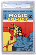 Golden Age (1938-1955):Miscellaneous, Magic Comics #20 Mile High pedigree (David McKay Publications, 1941) CGC NM+ 9.6 Off-white to white pages....