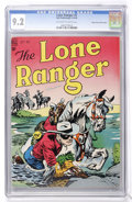 Golden Age (1938-1955):Western, Lone Ranger #5 Mile High pedigree (Dell, 1948) CGC NM- 9.2Off-white to white pages....