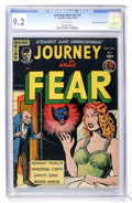 Golden Age (1938-1955):Horror, Journey Into Fear #3 Mile High pedigree (Superior, 1951) CGC NM-9.2 White pages....