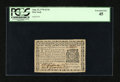 Colonial Notes:New York, New York August 13, 1776 $1/16 PCGS Extremely Fine 45....