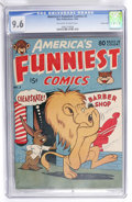 Golden Age (1938-1955):Funny Animal, America's Funniest Comics #2 Carson City Pedigree (Wm. H. Wise& Co., 1944) CGC NM+ 9.6 Off-white to white pages....