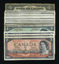 Canadian Currency: , Seventeen Dollars Canadian.. ... (Total: 14 notes)