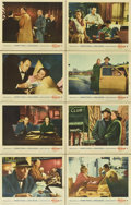 "Movie Posters:Hitchcock, The Wrong Man (Warner Brothers, 1957). Lobby Card Set of 8 (11"" X14"").... (Total: 8 Items)"