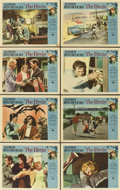 """Movie Posters:Hitchcock, The Birds (Universal, 1963). Lobby Card Set of 8 (11"""" X 14"""")....(Total: 8 Items)"""